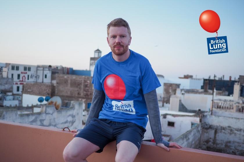 Fraser Balaam, British Lung Foundation