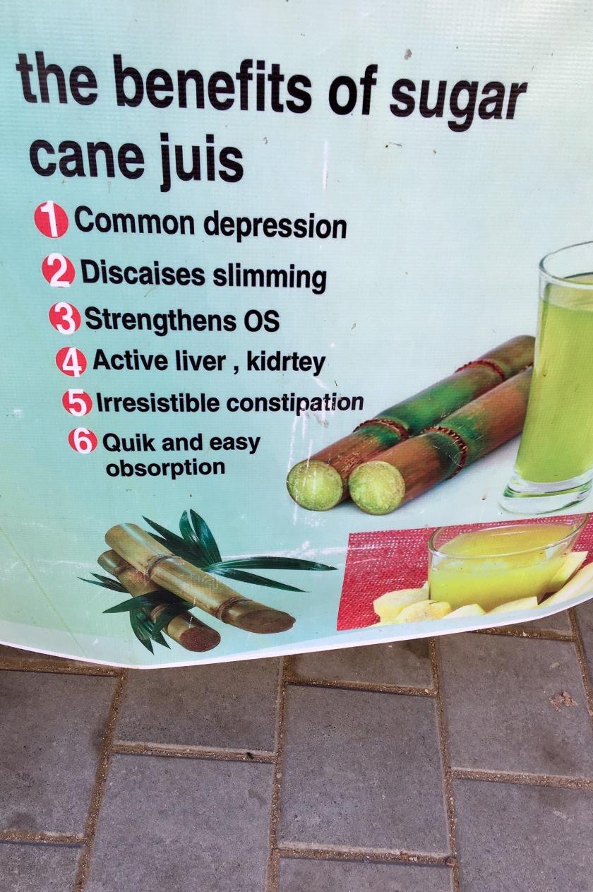 Sugar cane juice, Essaouira