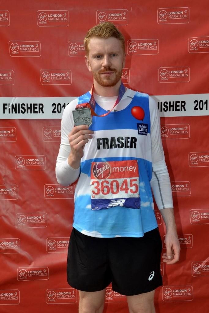 2018 Virgin Money London Marathon finish photo